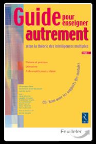 Couverture d'ouvrage sur les intelligences multiple. Éditions Retz
