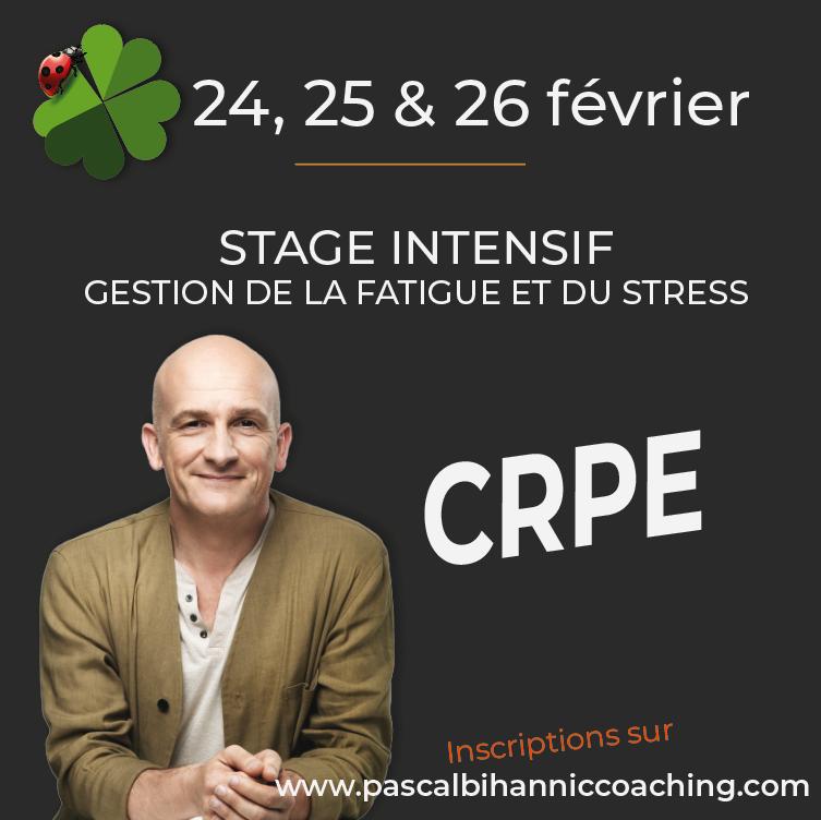 CRPE - Stage intensif