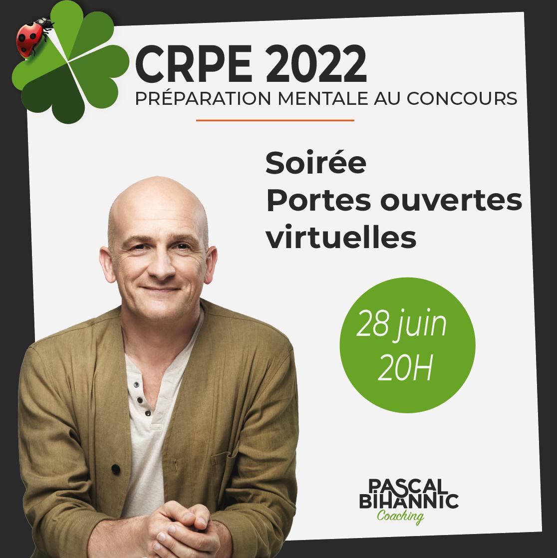 CRPE 2022 Soirée portes ouvertes